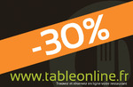 -30% sur l'addition